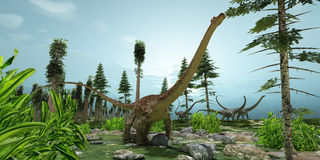 Diplodocus World Stock Photo