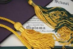 diplom Royaltyfria Foton