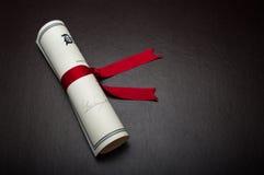 Diplom Arkivfoton