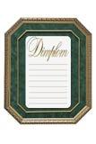 Diplom antiquado Imagem de Stock Royalty Free