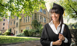 Diploma foto de stock