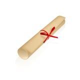 Diploma Fotografía de archivo libre de regalías