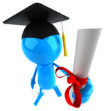 Diploma Stock Photography