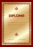 Diploma Royalty Free Stock Photography