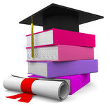 Diploma Royalty Free Stock Photos