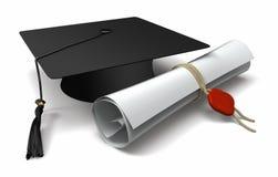 Diploma Immagini Stock Libere da Diritti