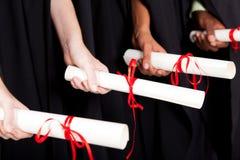 Diploma Imagenes de archivo