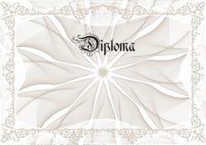 Diploma Foto de archivo