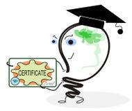 diploma Immagine Stock