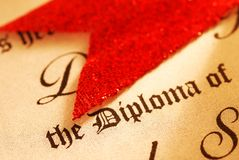 Diploma Stock Photos