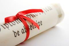 Diploma Royalty Free Stock Photography