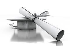 Diploma of a bachelor Royalty Free Stock Photos