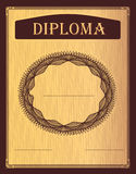 Diploma bordo Royalty Free Stock Image