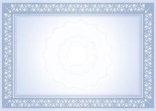 Diploma certificate Stock Image