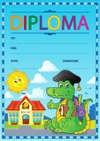 Diploma composition image 6 Stock Image