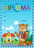 Diploma composition image 5 Royalty Free Stock Image