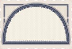 Diploma con el arco Imagen de archivo libre de regalías