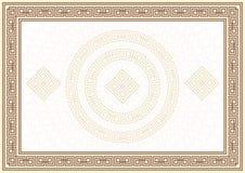 Diploma e certificado Imagens de Stock