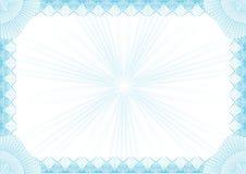 Diploma frame. Blue diploma frame You cau use for certificate, diploma etc Stock Photography