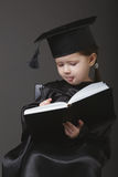 Diploma graduating little student kid Royalty Free Stock Photos