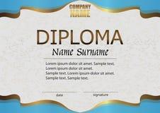 Diploma. Reward. Winning the competition. Award winner. vector illustration