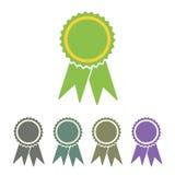 Diploma seal web icon Stock Photo