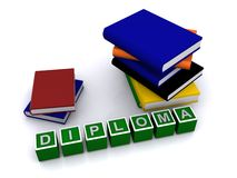Diploma Royalty Free Stock Photos