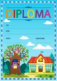 Diploma subject image 3 Royalty Free Stock Image