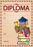 Diploma subject image 9 Royalty Free Stock Images