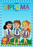 Diploma topic image 6 Stock Image