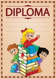 Diploma topic image 7 Royalty Free Stock Photos