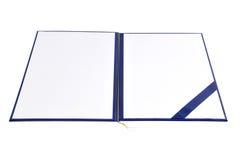 Diplomabdeckung Stockbilder