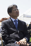 Diplomat attending Los Angeles National Cemetery Annual Memorial Event, May 26, 2014, California, USA Stock Photo