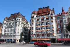 Diplomat hotel in Stockholm, Sweden. Stock Photos