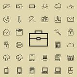 Diplomat icon. Detailed set of minimalistic icons. Premium graphic design. One of the collection icons for websites, web design, m. Obile app on colored Royalty Free Stock Photos