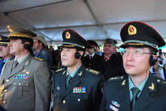 Diplomatas militares Fotos de Stock