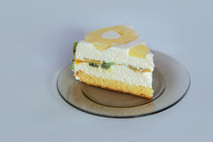 Diplomatico cake desert Stock Images