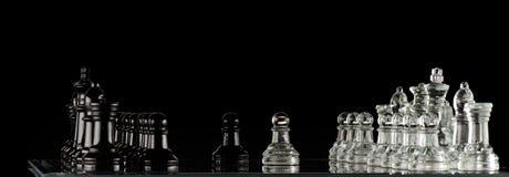 Diplomatie d'échecs Photographie stock