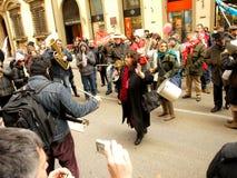 DIPLOMATISCHE ÄUSSERUNG IN ITALIEN stockfotos
