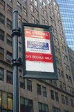 Diplomats Only. A sign on East 41st Street, near the United Nations Building, indicating that only vehicles with diplomatic licenses can stand on the street royalty free stock photography