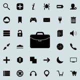 Diplomatsymbol Detaljerad uppsättning av minimalistic symboler Högvärdig grafisk design En av samlingssymbolerna för websites, re stock illustrationer