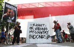 Diplomazia dell'Australia - dell'Indonesia immagine stock libera da diritti