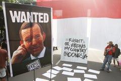 Diplomazia dell'Australia - dell'Indonesia immagini stock libere da diritti