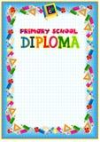 Diplomdesignmall Royaltyfria Bilder
