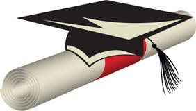Diplomgeschäft Stockfoto
