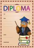 Diplomzusammensetzungsbild 1 Stockfoto