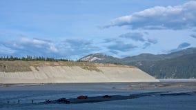 dipnetting ποταμός χαλκού Στοκ Εικόνες
