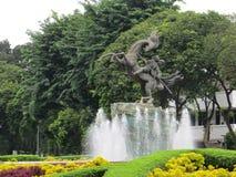 Diponegoro Monument in Menteng, Jakarta. Indonesia Stock Image