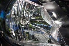 Dipped beam car Stock Image