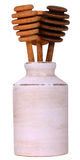 Dipper меда Стоковые Фотографии RF